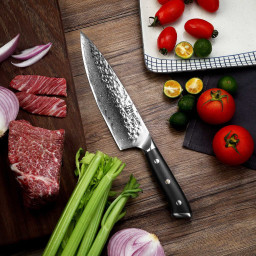 Damascus Chef Knife Keemake Pro Giveaway Service Where Brands Connect With Influencers